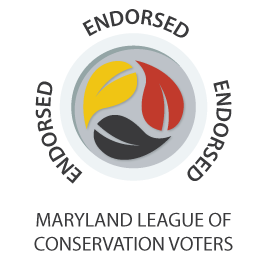 Maryland LCV Endorsed Logo